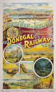 Irish Railway poster, The Donegal Railway Company, Ireland
